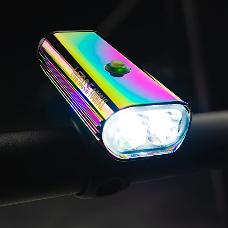 Silverpoint Stretch  Flexible Front Head Light Torch Knog Lezyne Various Colours