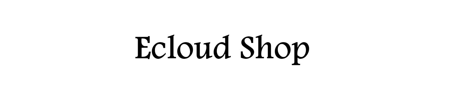 Ecloud Shop header