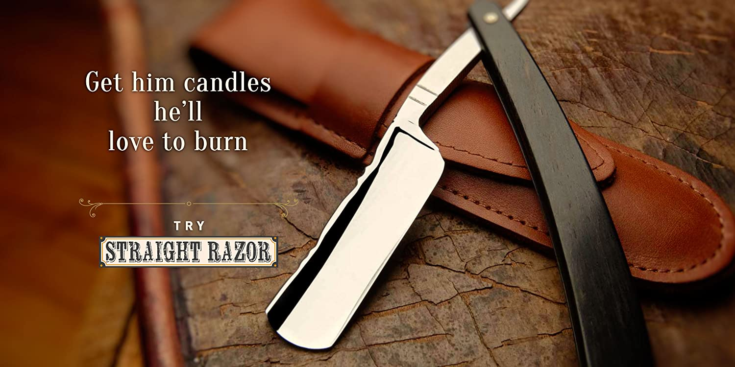 Straight Blade Candle