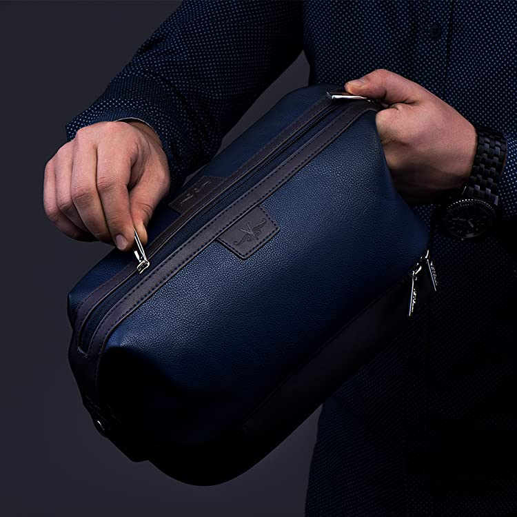 a39810bffb The Leo opens wider and deeper than typical toiletry bags making it easier  to find