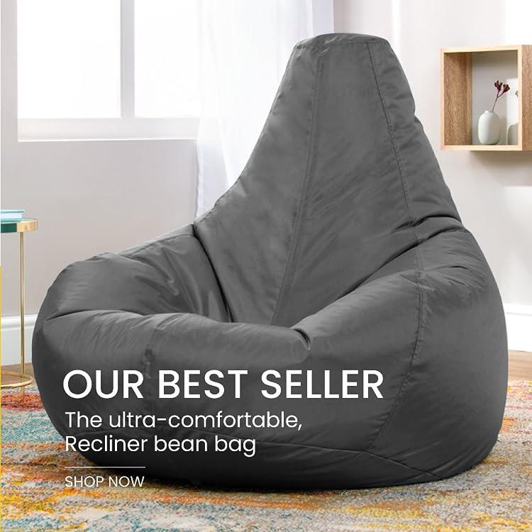 Astounding Amazon Co Uk Bean Bag Bazaar Cjindustries Chair Design For Home Cjindustriesco