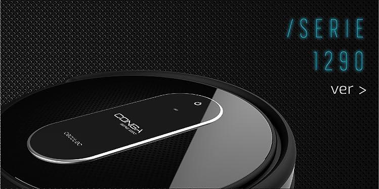 Cecotec Conga Serie 3090 - Robot aspirador 4 en 1. con mapeo y app., navegación inteligente y ordenada iTech Laser 360, 10 modos de limpieza, programable, ...
