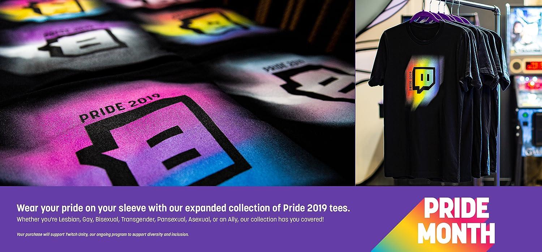 ecbcaae1 Twitch Unisex Gay Pride 2019 T-Shirt