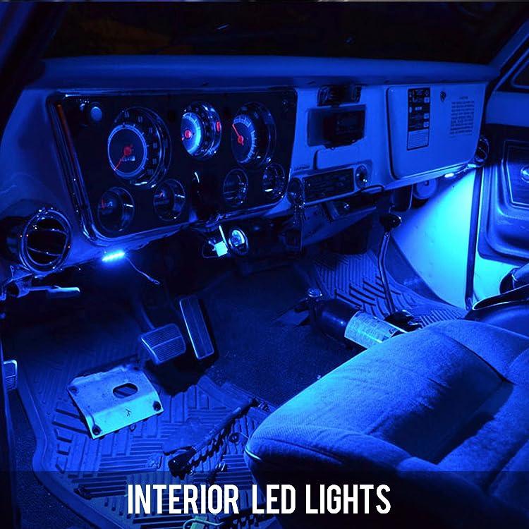 Auto Parts Accessories 8pcs Canbus White Car Light