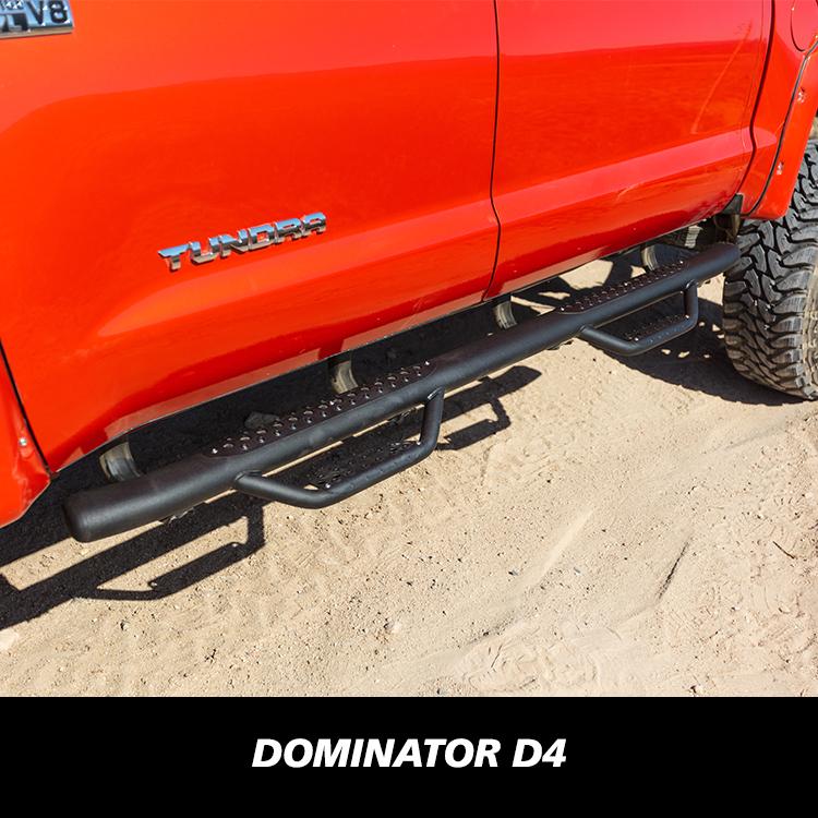 D361281B Dominator III Black Side Step Go Rhino