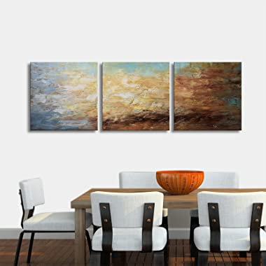 Flower Wall Art Decor Modern Framed Floral Canvas Painting Picture ...