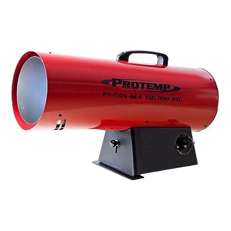 Pro-Temp PT-150V-GFA-A 150,000 BTU Variable Propane Forced Air Heater