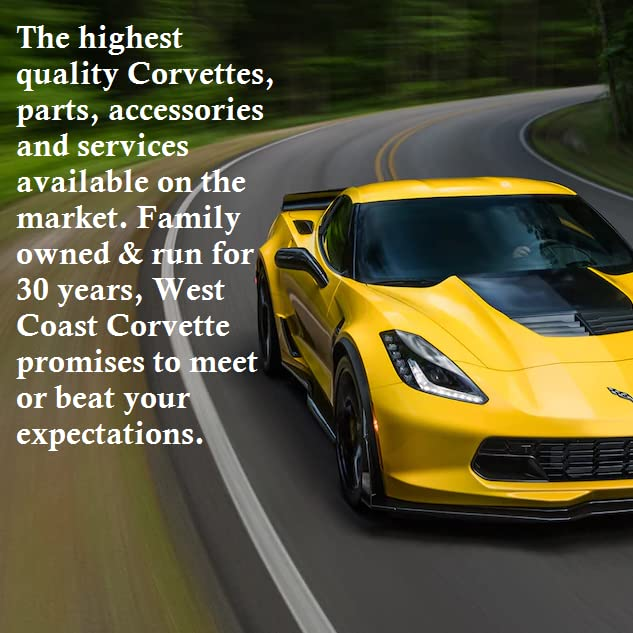 West Coast Corvette >> Amazon Com West Coast Corvette Camaro