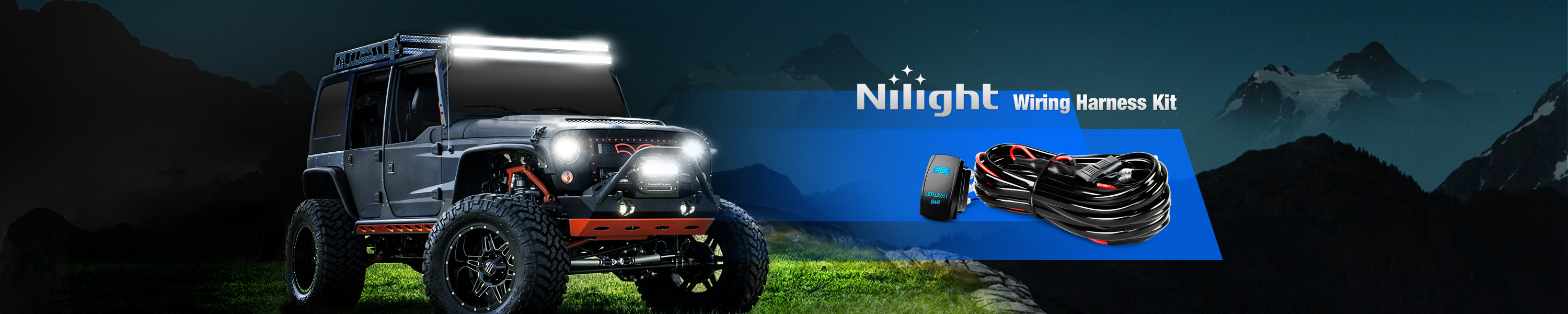 Nilight Wiring Harness Off Road