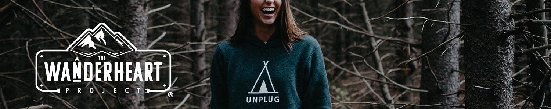 Unisex Fit Unplug Teepee Premium Super Soft Pullover Hoodie Donates $1.00 to CHDs