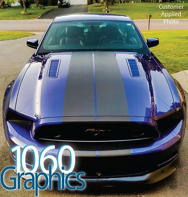 Amazon com: 1060 Graphics: Carbon Fiber Racing & Pinstripes