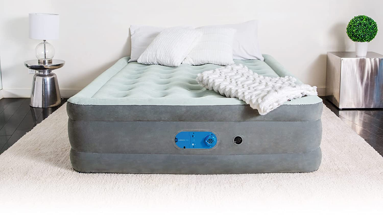 Bestway airbeds floqué rapide de l/'inflation Bobine faisceau Indoor trad 203x152x38