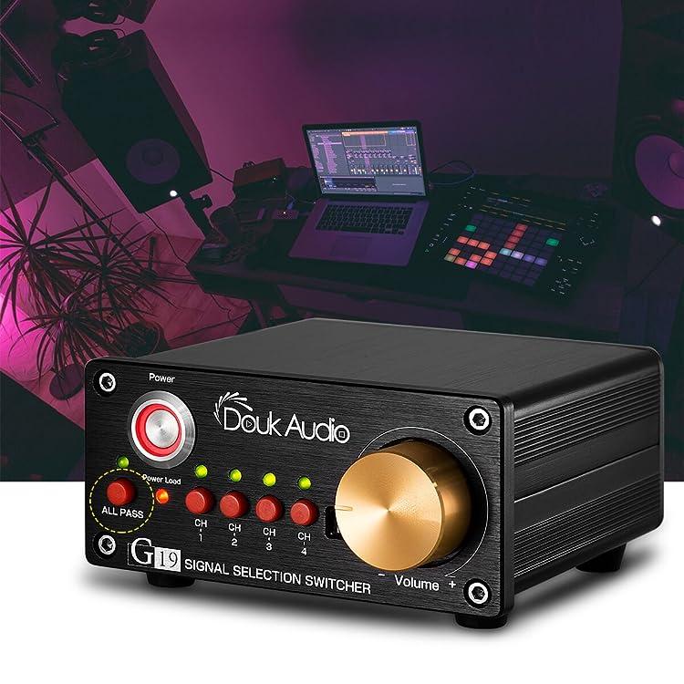 L.HifiSelector Hifi Passive Selector Preamplifier Audio Selector Preamp X-sz