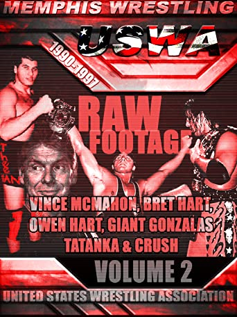 USWA Memphis Wrestling Raw Footage Vol 2 [OV]