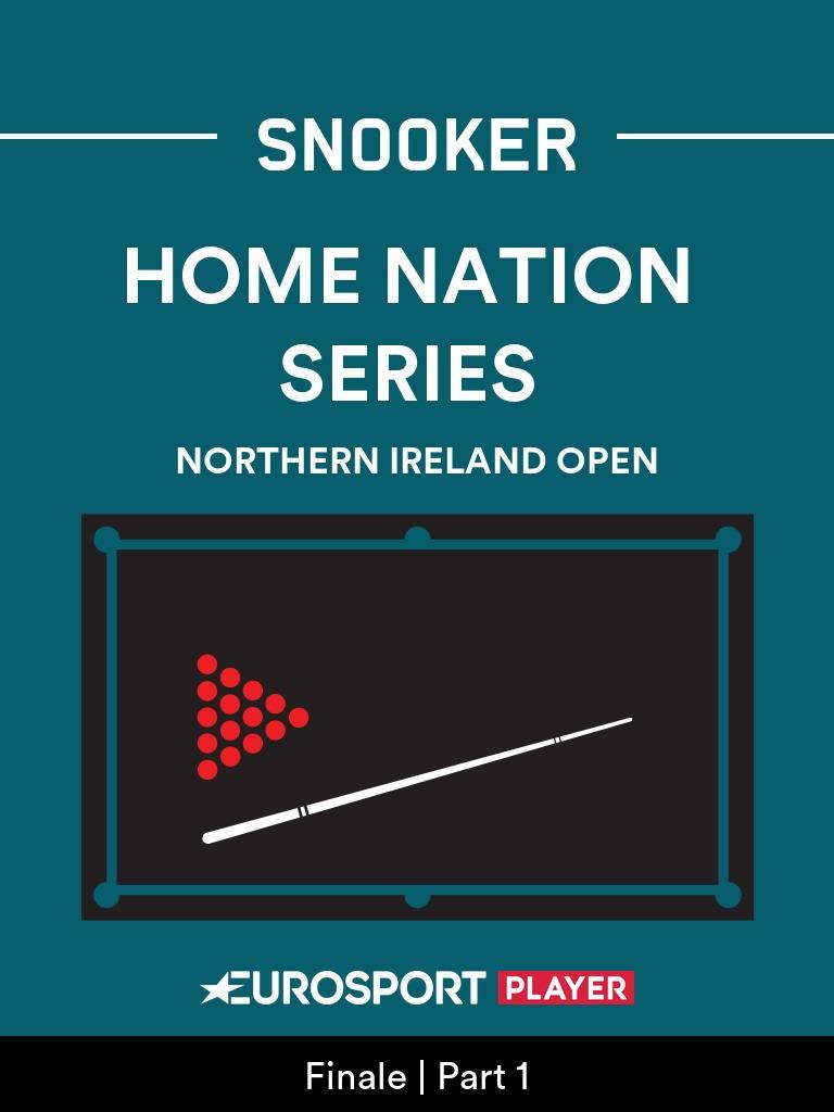 Snooker: Northern Ireland Open in Milton Keynes (ENG)
