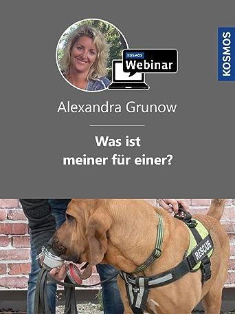Was ist meiner für einer? Mantrailing mit Alexandra Grunow