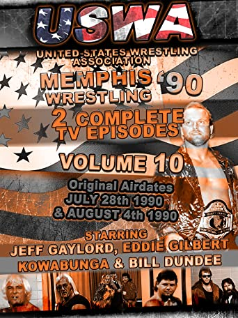 USWA Memphis Wrestling 2 TV Episodes 1990 Vol 10 [OV]