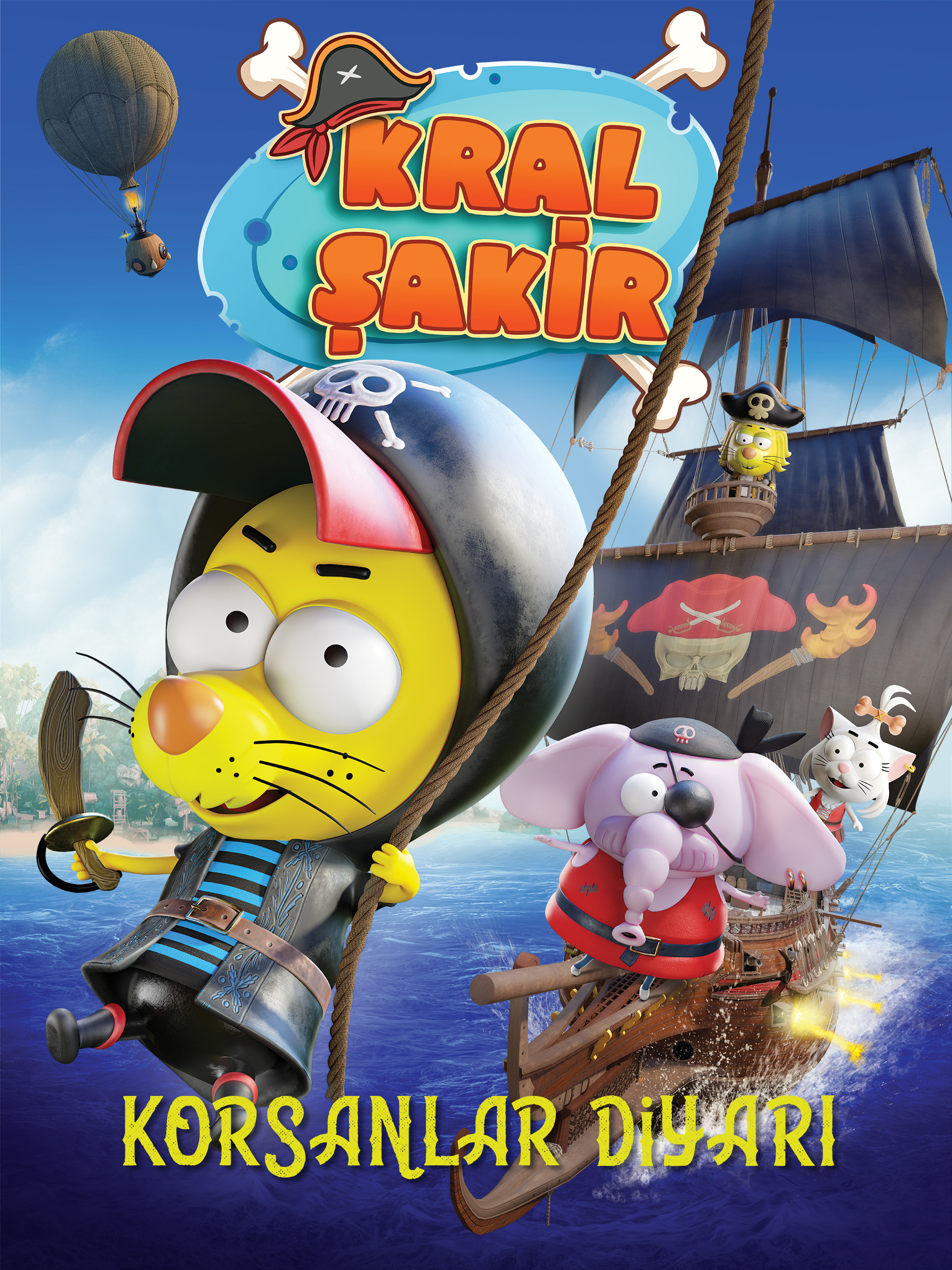 Kral Şakir Korsanlar Diyarı