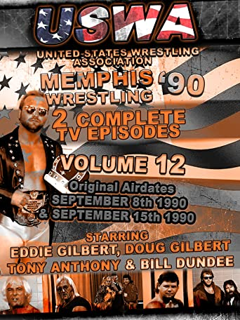 USWA Memphis Wrestling 2 TV Episodes 1990 Vol 12 [OV]