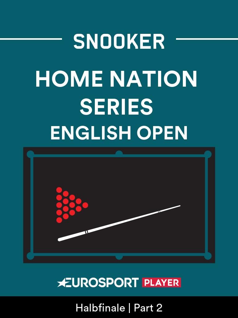 Snooker:English Open 2020 in Milton Keynes (ENG)