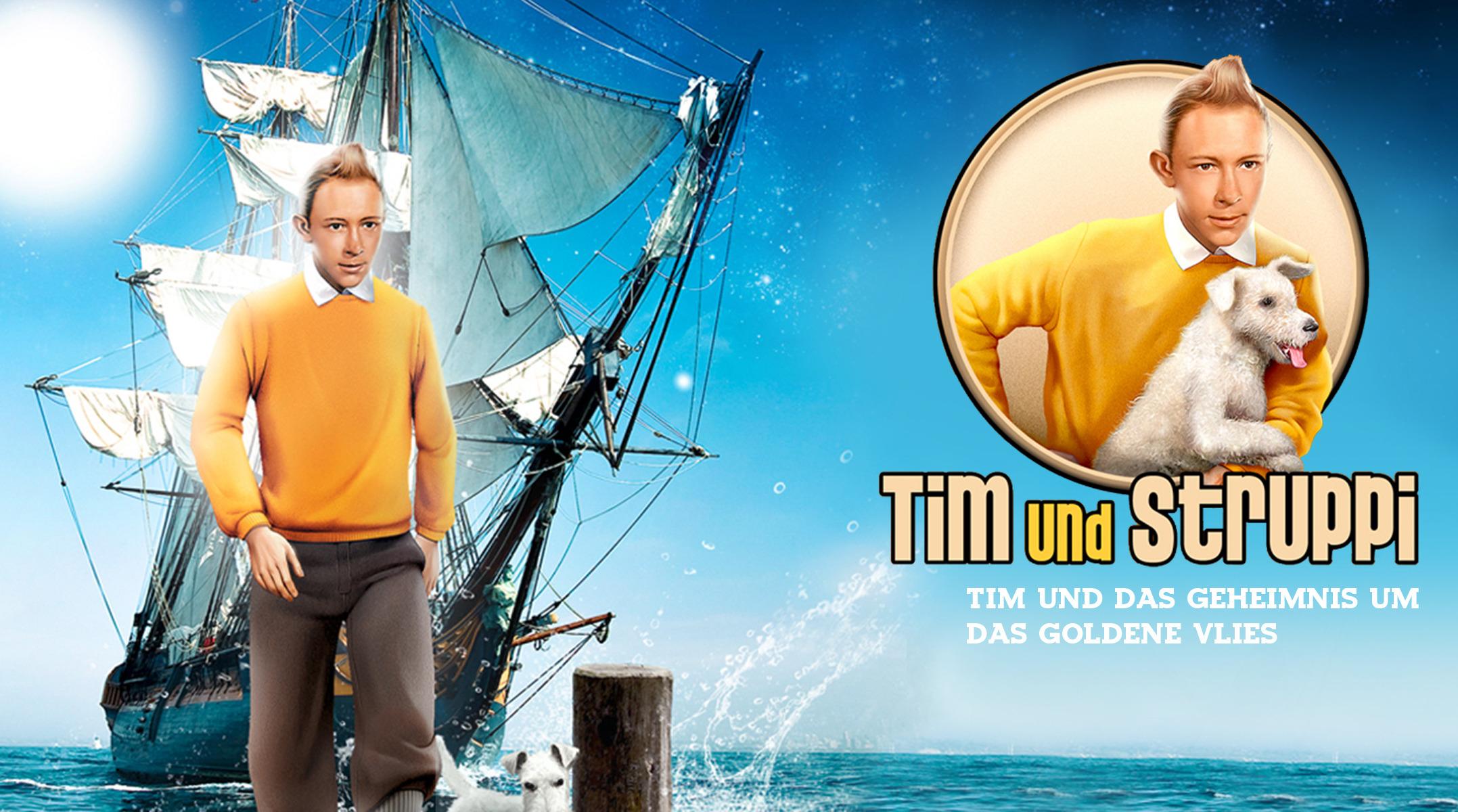 Tim und Struppi und das Geheimnis um das goldene Vlies