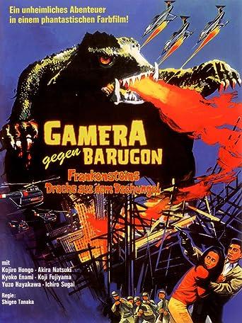 Gamera gegen Barugon - Frankensteins Drache aus dem Dschungel