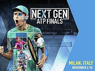 2018 ネクスト・ジェネレーションATPファイナルズ 第8試合 再放送: Alex DE MINAUR 対 Andrey RUBLEV