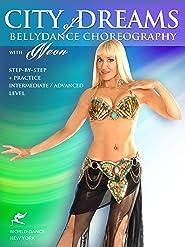 Stadt der Träume: Belly Dance Bauchtanz-Choreographie von Neon, Mittelstufe-Fortgeschritten [OV]