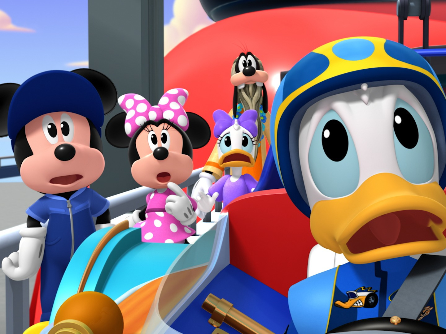 mickey and the roadster racers - HD1440×1080