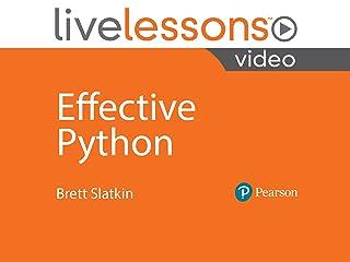 Amazon Instantwatcher Effective Python Livelessons
