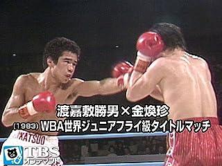 渡嘉敷勝男×金煥珍(1983) WBA世界ジュニアフライ級タイトルマッチ 渡嘉敷勝男×金煥珍(1983) WBA世界ジュニアフライ級タイトルマッチ