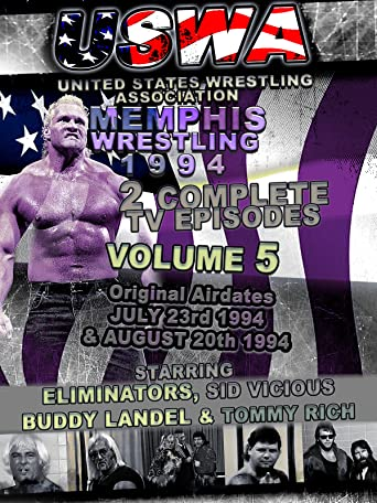 USWA Memphis Wrestling 2 TV Episodes 1994 Vol 5 [OV]