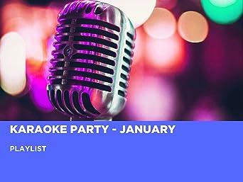 Karaoke-Party - Januar