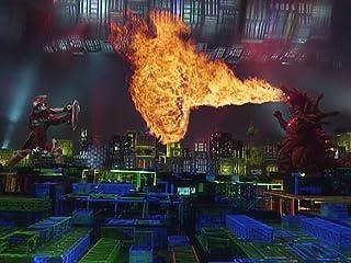 電光超人グリッドマン 第7話 電子レンジ爆発0秒前 火炎怪獣フレムラー登場