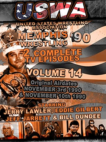 USWA Memphis Wrestling 2 TV Episodes 1990 Vol 14 [OV]