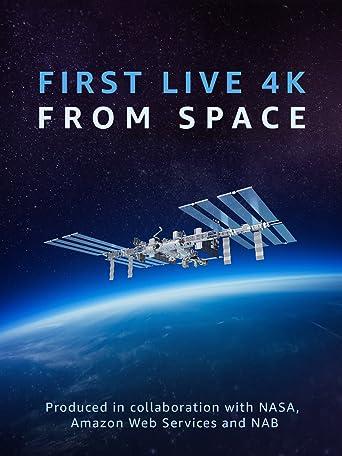 Erster 4K-Live-Stream aus dem Weltraum (4K UHD)