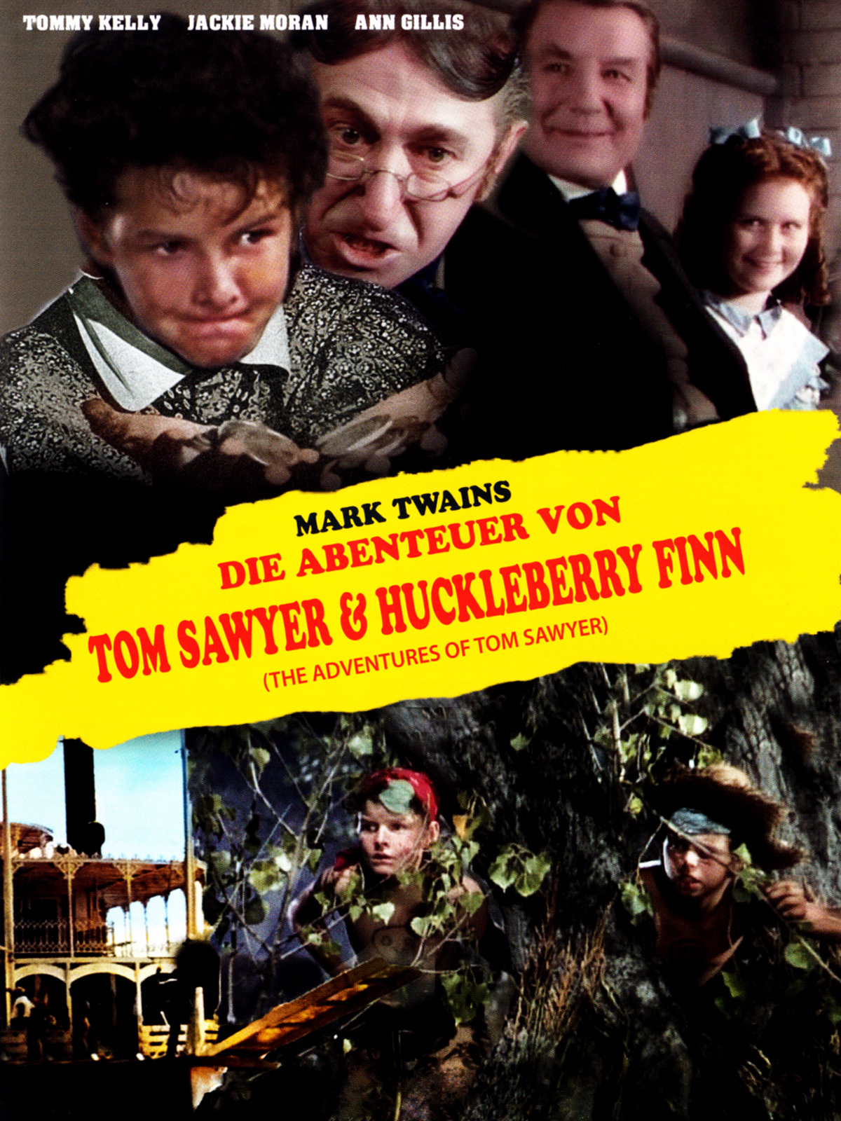 Die Abenteuer von Tom Sawyer & Huckleberry Finn