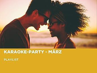 Karaoke-Party - März
