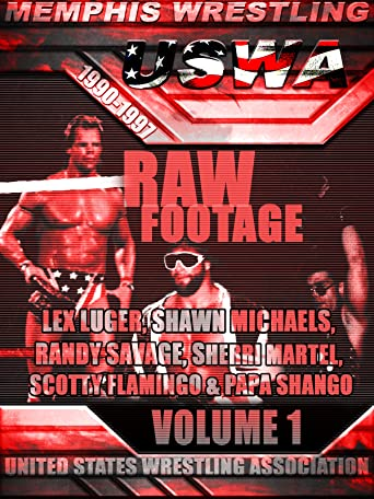 USWA Memphis Wrestling Raw Footage Vol 1 [OV]