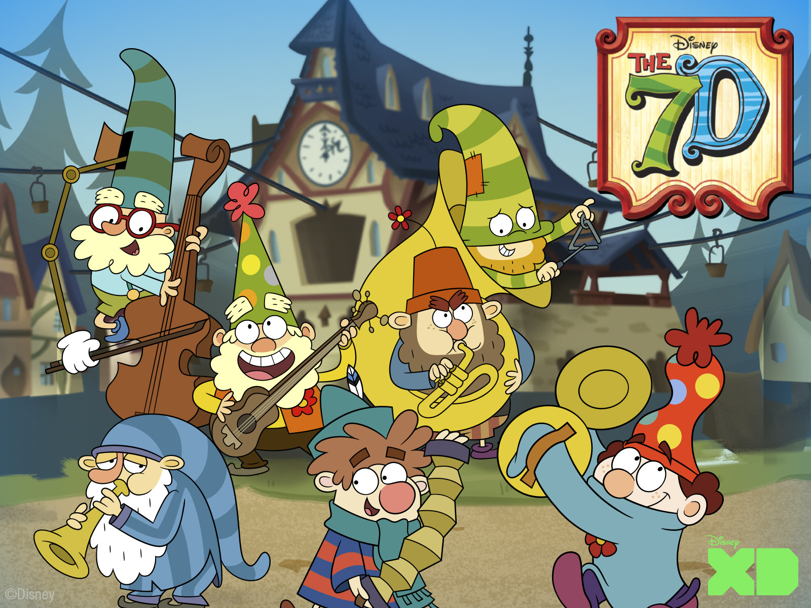 Watch The 7D Season 2 Episode 11: Miss Fortune Teller on