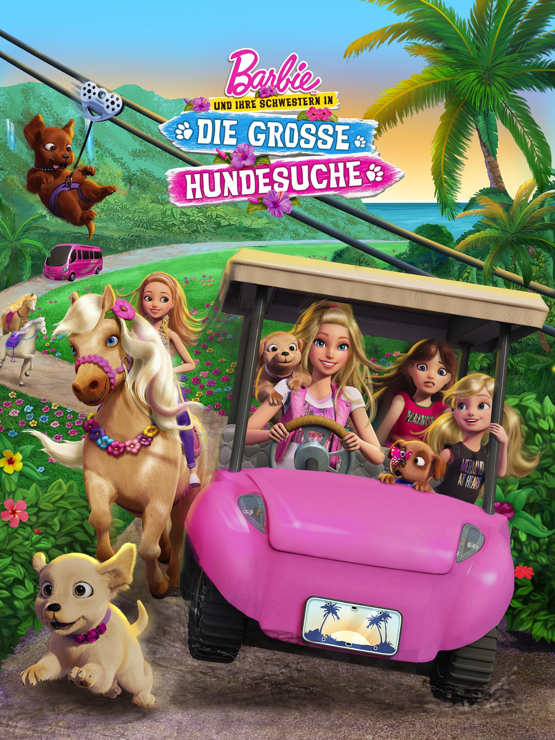 Barbie und ihre Schwestern in: Die grosse Hundesuche