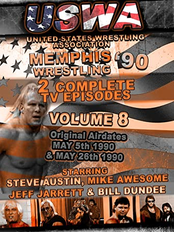 USWA Memphis Wrestling 2 TV Episodes 1990 Vol 8 [OV]