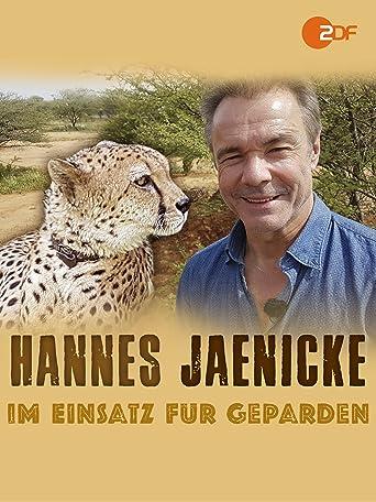 Hannes Jaenicke: Im Einsatz für Geparden