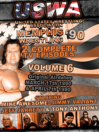USWA Memphis Wrestling 2 TV Episodes 1990 Vol 6 [OV]