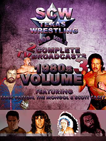 1980s SCW Wrestling 2 Complete TV Broadcasts Vol 3 [OV]