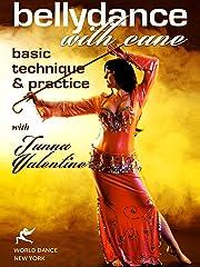 杖とベリーダンス:基本的なテクニックとTanna Valentineの練習
