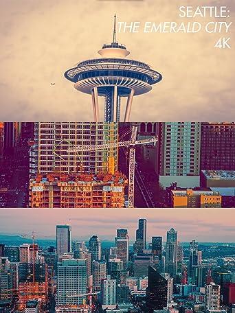4K Seattle The Emerald City  [OV] (4K UHD)