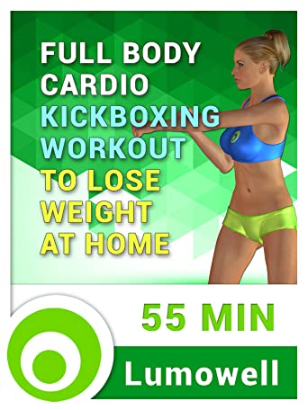 Full Body Cardio Kickboxing Workout to Lose Weight at Home [OV]