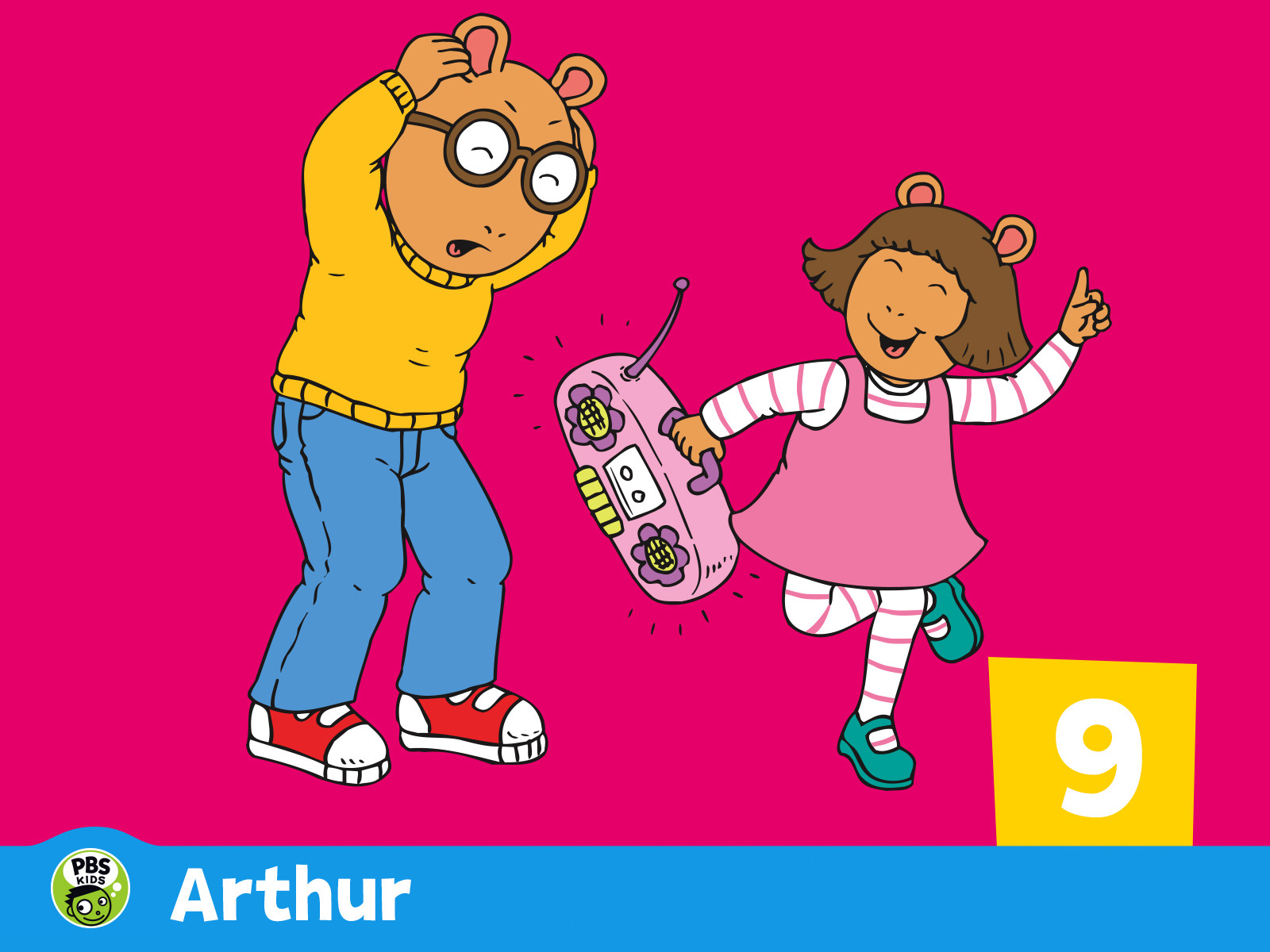 Watch Arthur Season 9 Episode 6: The Law of The Jungle Gym