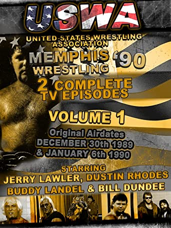 USWA Memphis Wrestling 2 TV Episodes 1990 Vol 1 [OV]